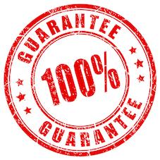 100 guarantee stamp